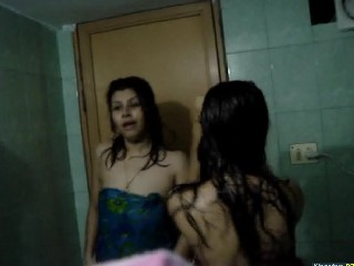 Desi Hostel Girl In Bathroom