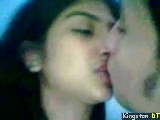Pakistani Teen Couple Kissing